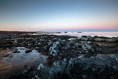 coast (Andrei-Dragos) Tags: ocean longexposure blue sunset sea summer sky nature water canon landscape dawn coast iceland seaside rocks outdoor wide ultrawide 6d landscapephotography