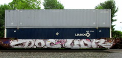 DOC UDR (timetomakethepasta) Tags: doc udr freight train graffiti intermodal