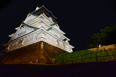 Osaka Castle (ap0013) Tags: osaka castle japan night architecture  longexposure osakacastle osakajapan   asia asian