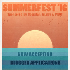 Summerfest '16 Blogger Applications (Darling Monday) Tags: friday summerfest pilot floorplan summerfest16