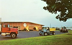 Trenton Mack Sales & Service, Trenton NJ (aldenjewell) Tags: new truck postcard nj jersey service sales mack dealership trenton