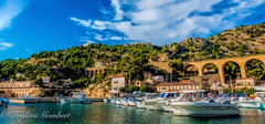 Sunny calanque (frederic.gombert) Tags: blue light sea summer sun nikon mediterranean south sunny summertime cote provence bleue d800 calanque mediterranee madrague gignac ensues
