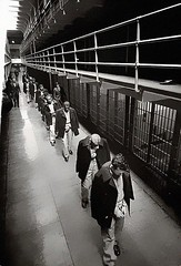Last prisoners leaving Fort Alcatraz in 1963 [605x890] #HistoryPorn #history #retro http://ift.tt/1X5Yw70 (Histolines) Tags: history last leaving fort retro timeline alcatraz 1963 prisoners vinatage historyporn histolines 605x890 httpifttt1x5yw70