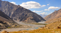 Spectacular Spiti (mala singh) Tags: autumn india mountain nature river landscape valley himachal himalayas spiti