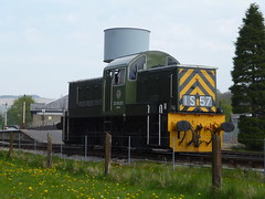 ELR BR Class 14 D9531 Ernest 07052016a (Rossendalian2013) Tags: train railway locomotive preserved ernest elr shunter ncb britishrailways eastlancashirerailway rawtenstall dieselhydrauliclocomotive class14 nationalcoalboard swindonworks d9531