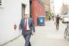 Smith (zac evans photography) Tags: city nyc urban ny newyork sunglasses brooklyn island metro walk bald smith business suit sidewalk queens manhatten swag staten yaszacevansphoto