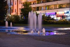 Kecskemt centrum (rozsaphotography) Tags: park street camera city urban building water fountain town photo nikon europe flickr hungary centre picture nikkor centrum kecskemt magyarorszg vros longexpo szkkt mirrorless kzpont pdzoom nikon1j5