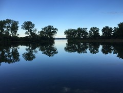 Lake Waubesa (Drew Z) Tags: blue summer calm clear waubesa