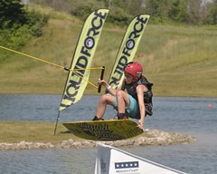 Liquid Force (John Rothwell) Tags: sports water force action michigan grandrapids wakeboard trick liquid mastercraft liquidforce hudsonville stategamessat