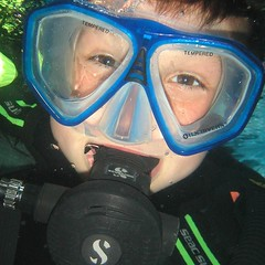 #kids #love to #scuba #dive ! #scubadiving #PADI (lsdscuba) Tags: scuba lsd instagram ifttt