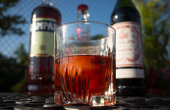 Behold the Boulevardier!!!      (181) (Beau Finley) Tags: drinkcity dc dcfocused washingtondc districtofcolumbia beaufinley liquor cocktail campari vermouth bourbon boulevardier erskinegwynne 365 project project365