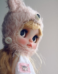 Junie Moonie Cutie (k07doll) Tags: cute bigeyes doll sweet blythe custom cubby blythedoll rbl customblythe blythecustom k07 k07doll