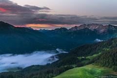 fog in the mountains (lindner.photography) Tags: mountain fog sunrise bavaria nebel berge