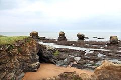 IMG_3368jpeg (-Morgane-) Tags: ocean sea france nature landscape outdoors photography seaside sand rocks sion vende