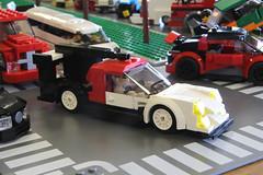 Hot Minifig Rides 2016 群馬レゴオフ (Tamotsu_4WLC) Tags: street beach car truck drag lego parking event hotrod custom lowrider carshow hopping jdm racer drift usdm 4wlc