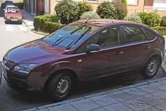 Ford Focus (Jusotil_1943) Tags: 03072016 coches cars redcars