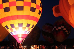 Balloon fest (Tricia Lynne) Tags: night hotairballoon balloonfest