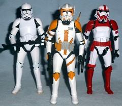 Hasbro - Black Series Phase 2 Clones (Darth Ray) Tags: blue 2 6 trooper black star amazon inch 14 troopers walmart ii imperial shock series wars cody clone phase commander hasbro battlefront