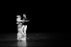 dancing with a Ghost (k.kdima) Tags: ballet berlin dark dance darkness ghost staatsballettberlin