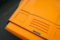 SV-1 (e.m.alder) Tags: auto red orange ontario canada classic ford car vintage nikon driving angle angles vivid automotive canadian manitoba newbrunswick vehicle fiberglass 1970s supercar wedge bricklin sportscar vibrance sv1 bricklinsv1 d7100