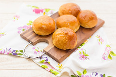 bread with red bean paste (yumehana) Tags: red food brown japan closeup breakfast studio bread dessert japanese close sweet background paste tasty bean fresh gourmet delicious filled bakery snack meal roll bun anko wagashi
