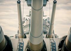 fire! (Steve Stanger) Tags: newjersey nikon battleship battleshipnewjersey d7000 nikond7000