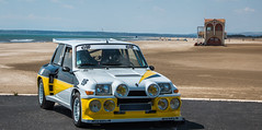 R5 Alpine Turbo MAXI (icodac) Tags: mer canon voiture retro turbo alpine extrieur plage maxi ancienne r5 portlanouvelle voitureamericaine eos70d