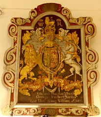 Manorbier, Pembrokeshire (Sheepdog Rex) Tags: royalarms churchofstjames manorbier