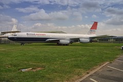 G-APFJ Boeing 707-420 (Vodka Burner) Tags: boeing707 rafcosford royalairforcemuseum britishairtours egwc gapfj boeing707420