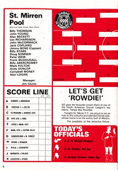 St Mirren vs Tampa Bay Rowdies - 1980 - Page 8 (The Sky Strikers) Tags: street love st tampa bay official exhibition match paisley programme rowdies mirren 25p