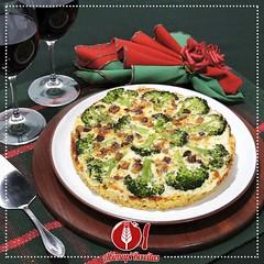 Pizza de Macarro com Brcolis (Almanaque Culinrio) Tags: food recipe comida gastronomia culinria receita