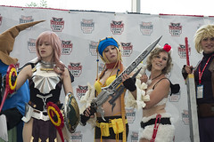 Nice Sword (Limit Breaker Media) Tags: people anime nerd photo colorado comic geek cosplay outdoor border denver cosplayer con animecosplay cosplaying denvercomiccon dcc2016