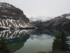 Bow Lake (RS_1978) Tags: gewsser berge kanada landschaft olympusem5ii natur see acqua eau lac lago lake landscape montagnes mountains nature wasser water   banffnationalpark alberta ca