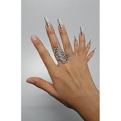 "SKETCH-A-WEEK 10 ""Manipulate"" (dxrlne) Tags: art nail rings jewelry manipulate"
