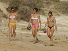 girls_Scala_dei_Turchi_5106 (Manohar_Auroville) Tags: girls sea italy white beach beauty seaside rocks perspectives special scala sicily luigi dei agrigento fedele turchi scaladeiturchi manohar