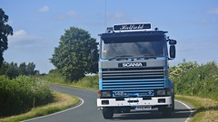 E621 WOD (panmanstan) Tags: truck wagon yorkshire transport lorry commercial vehicle freight scania haulage 142m littleweighton