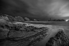 Cerria, Cantabria (martin zalba) Tags: beach night noche spain playa cantabria cerria