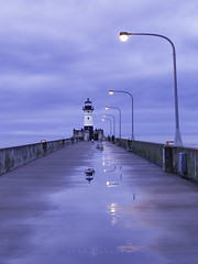 Be a Lighthouse, Showing path to others when they are in darkness. (Eden Bhatta) Tags: travel sky lighthouse lake reflection rain minnesota evening romance bluehour mn duluth lakesuperior travelphotography sigma1750mmf28 canon70d thetaintedtripod