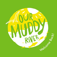 Campaign Logo. Campaign for the Muddy River, Boston, MA (Cahoots Design) Tags: campaign muddy river park parkway spotlight brand branding messaging participant community boston green olmstead frederick law olmsted landscape urban greenway american architecture educationaloutreach public participation stewardship momentum restoration city people birds animals fish nature natural brookline fenway daylighting construction flood prevention project engineering environmental environment wildlife floodprevention illustration logo logotype riverway welcome organization mmoc charter cahoots cahootsdesign massachusetts usarmycorpsofengineers historic destination opening culture