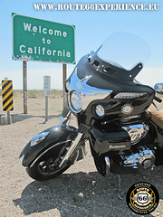 Route 66 Experience, Welcome to California sign (ROUTE 66 EXPERIENCE) Tags: route66experience route66 ruta66 trip touring tours tour harleydavidson hog harleyownersgroup indian motorcycles carretera company motard moto motorrad motociclismo motero motorcycle motorcycletouring motorcycletour motorcycletours