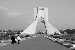 Azadi Tower (thomas.janisch) Tags: iran tehran teheran azadi freedomtower azaditower