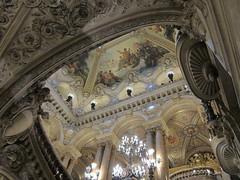 Le Palais Garnier, Paris (rwchicago) Tags: paris mural opera chandelier beauxarts palaisgarnier charlesgarnier baroquerevival