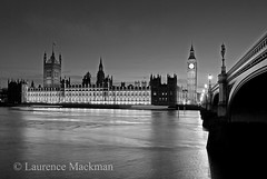WestminsterBridge 374 E W BW (laurencemackman) Tags: uk london westminster thames facade river riverside gothic housesofparliament parliament government perpendicular houseoflords palaceofwestminster houseofcommons charlesbarry cityofwestminster augustuspugin