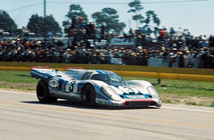 On their way to winning Sebring in 1971. (Nigel Smuckatelli) Tags: auto classic cars race speed vintage 1971 classiccar automobile florida racing prototype porsche hour passion legends vehicle autoracing 12 sebring sir endurance motorsports fia csi sportscar wsc heures world martinirossi sportauto autorevue historic vicelford championship raceway louis sebringinternationalraceway porsche917k sebringflorida legends gp oldtimersport gerardlarrousse histochallenge manufacturers gp 1971 sebring motorsports nigel smuckatelli galanos manufacturers the12hourgrind