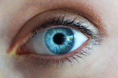 Eye (isobel-daisy) Tags: blue iris eye girl face person eyes lashes sister turquoise human pupil edit femal