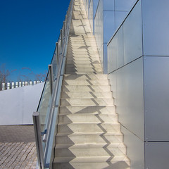 THE PYRAMID (Jane Legate) Tags: stairs copenhagen square graphic jane powershot opticalillusion orestad legate 8tallet