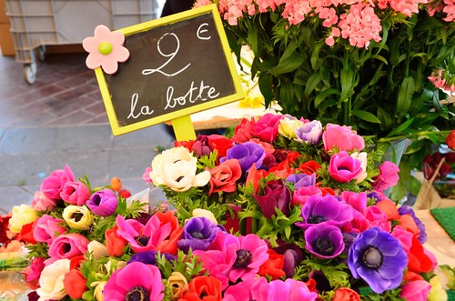 Flower market in Nice