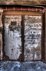 THE OLD METAL DOORS (Darkmoon Photography) Tags: old decay steel rusty gimp weathered hdr corroded photomatix