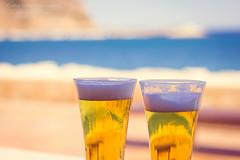 Cañas (loli jackson) Tags: blue sunset costa sol azul playa aves alicante cielo gaviotas cala javea xabia