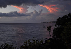 Basse-Terre sunset (thomaspollin [thanks for 2.2 million views !!!]) Tags: sunset france night island frankreich europa europe cloudy thomas dom insel guadeloupe antilles 971 île caraïbes outremer pollin karukera gwadloup thomaspollin